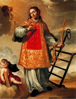 Liturgical day: August 10th: St. Lawrence, martyr