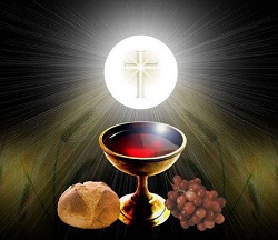 Daily Meditation: ``Truly, I say to you, if you do not eat the flesh of the Son of Man and drink his blood...``