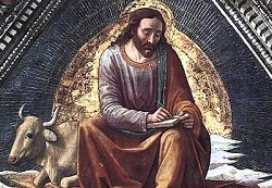 Liturgical day: October 18th: St. Luke, evangelist