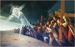 Daily Meditation: ``Whoever does not follow me carrying his own cross cannot be my disciple``