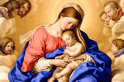 Daily Meditation: ``The shepherds came hurriedly and found Mary and Joseph with the baby lying in the manger``