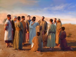 Daily Meditation: ``Jesus called his twelve disciples and gave them power ...``