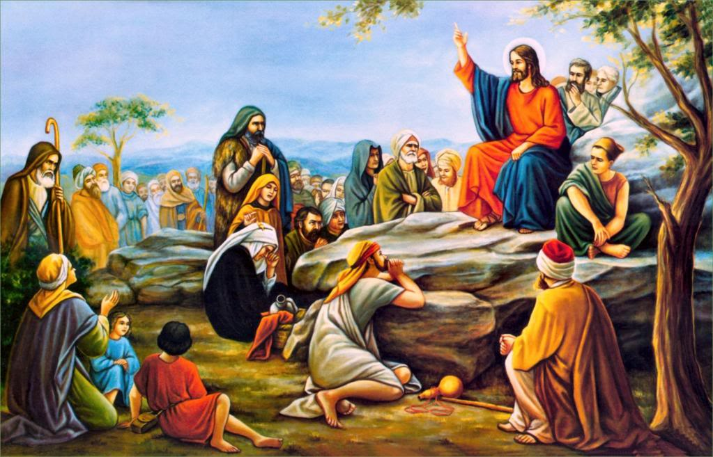 Daily Meditation: ``Once more He taught them, as He always did``