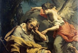 Daily Meditation: ``Joseph, descendant of David, do not be afraid to take Mary as your wife``