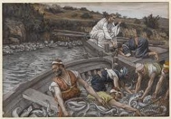 Daily Meditation: ``They gather the good fish in buckets, but throw the worthless ones away``