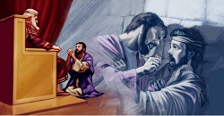 Daily Meditation: ``The king took pity on him and not only set him free but even canceled his debt``