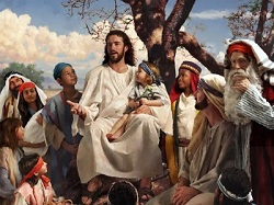 Daily Meditation: ``Little children were brought to Jesus ...``