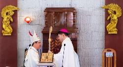 TL nhận sứ vụ Giám mục chính tòa Phan Thiết của Đức cha Giuse Đỗ Mạnh Hùng