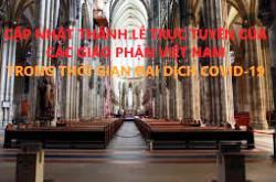 Thánh lễ trực tuyến tại các Giáo phận Việt Nam trong thời gian đại dịch covid-19