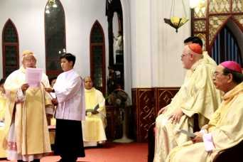Đức Hồng y Reinhard Marx nhà thờ Chính tòa Hà Nội