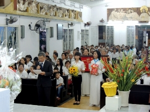 Lễ Thánh Giuse Thợ - Bổn mạng giáo xứ Xây Dựng