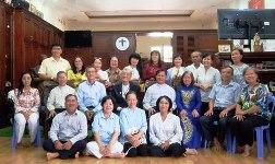 TTMV: Nhóm chia sẻ Lời Chúa mừng lễ bổn mạng