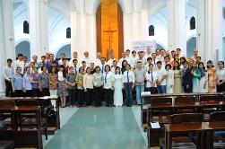 Học viện Mục vụ bế giảng năm học 2017-2018