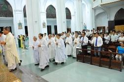 HVMV: Thánh lễ bế giảng NK 2017-2018
