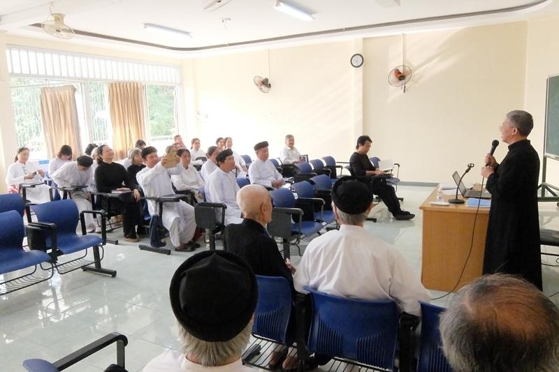 Buổi khai giảng khóa Tìm hiểu Công giáo và Đạo Cao Đài