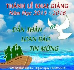 Học viện Mục vụ Khai giảng năm học mới (16.9.2015)
