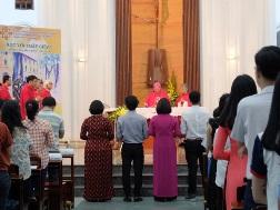 Lời nguyện tín hữu Thánh Lễ Khai Giảng NK 2017-2018