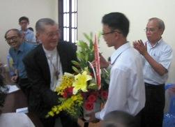 HVMV: Lời chúc mừng Đức H.Y Gioan Baotixita