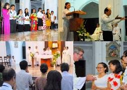Thánh lễ Bế giảng năm học 2015 - 2016tại Học viện Mục vụ