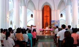 Thánh lễ Bế giảng Học viện Mục vụ TGP Sài Gòn (Nk 2019-2020)