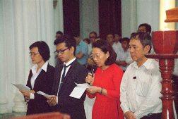 Lời nguyện tín hữu Thánh Lễ bế giảng NK 2016 - 2017