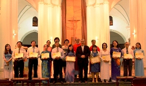 HVMV: Thánh lễ khai giảng và trao bằng tốt nghiệp
