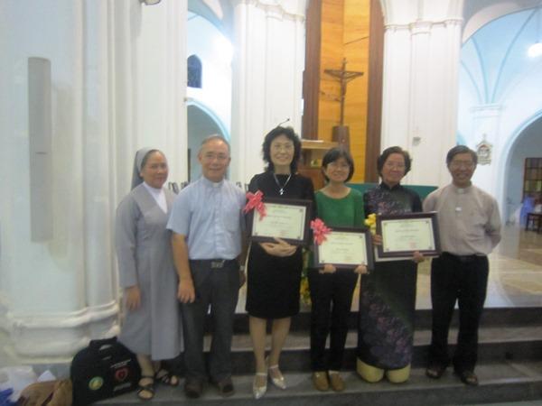 Học viên tốt nghiệp Cao đẳng Thần học