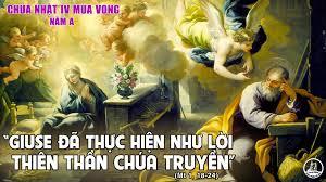 Thiên-Chúa-Ở-Cùng-Chúng-Ta: Suy niệm TM CN IV Mùa Vọng (A)