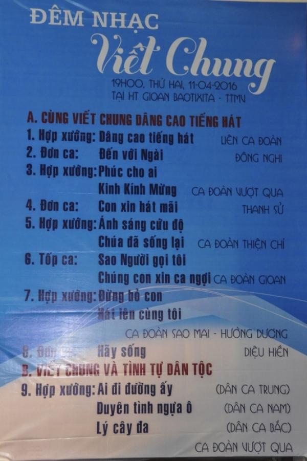 TTMV: Đêm nhạc Viết Chung