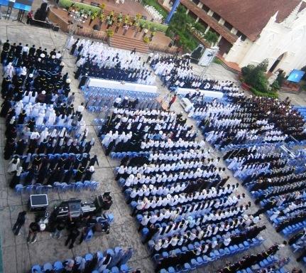 Thánh lễ Đại hội Tu sĩ toàn quốc (7.11.2015)
