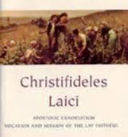 Tông huấn Christifideles Laici - Kitô hữu giáo dân (5)