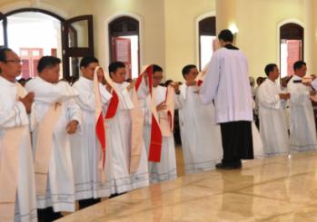 ĐCV: Thánh lễ phong chức Phó tế (30.01.2016)