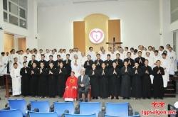 Lễ khai giảng lớp Chủng sinh Dự bị khóa VIII & IX
