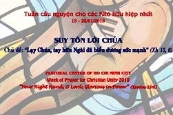 TTMV: Gặp gỡ Đại kết nhân Tuần lễ cầu cho các KTH hiệp nhất (24.1.2018)