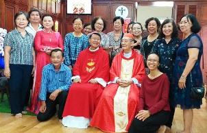 Nhóm cựu giáo chức và thân hữu (9.6.2019)