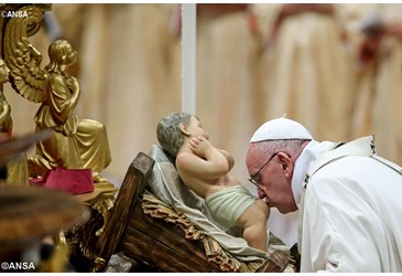 Lễ Vọng Giáng Sinh tại Vatican (24.12.2015)