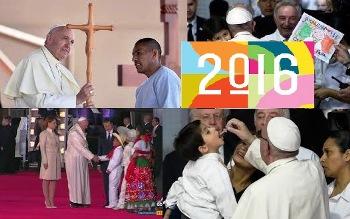Năm 2016 với Đức Giáo hoàng Phanxicô