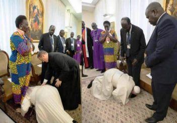 ĐGH Phanxicô gặp gỡ các lãnh đạo dân sự và tôn giáo Nam Sudan