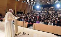Tông du Nhật Bản: ĐGH Phanxicô thăm đại học Sophia (26.11.2019)
