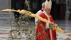 ĐGH Phanxicô cử hành Lễ Lá khai mạc Tuần Thánh 2020