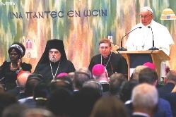 ĐGH Phanxicô gặp Hội đồng Đại kết các Giáo hội Kitô
