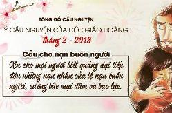 Ý cầu nguyện của ĐGH tháng 2/2019