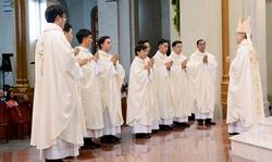 Thánh lễ Truyền chức Linh mục tại nhà thờ Đức Bà Sài Gòn