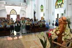 Hướng Đạo Sinh Công giáo: Lễ bổn mạng ngành Ấu