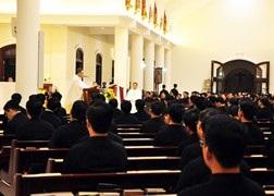 Đại chủng viện Thánh Giuse Sài Gòn: Mừng lễ Thánh Quan thầy