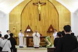 Tân Hồng y Phêrô tại Đại Chủng viện Thánh Giuse