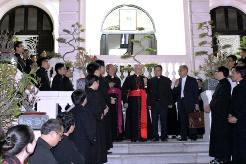 Đức hồng y Filoni thăm TGP Sài Gòn (24-25/1/2015)