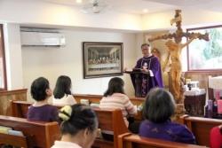 Giáo chức Giáo phận Sàigòn: Tĩnh tâm mùa Vọng 2018