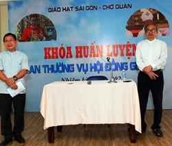 Hạt Sài Gòn-Chợ Quán bế giảng khóa huấn luyện HĐMVGX