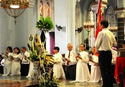 CĐ Lòng Chúa thương xót: Thánh lễ ra mắt tân Ban chấp hành
